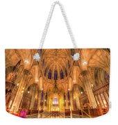 St Patrick's Cathedral Manhattan New York Weekender Tote Bag