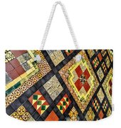 St. Patrick's Cathedral Mosaic Floors Weekender Tote Bag