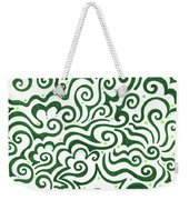 St Patrick's Day Abstract Weekender Tote Bag