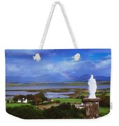 St Patricks Statue, Co Mayo, Ireland Weekender Tote Bag