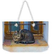 St Paul Cat Weekender Tote Bag