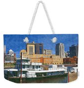 St Paul On The Mississippi Weekender Tote Bag