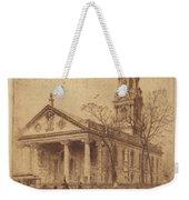 St. Paul's, Broadway, N.y. Weekender Tote Bag