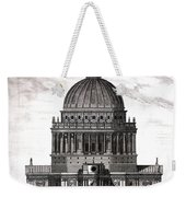 St. Pauls Drawn By Christopher Wren Weekender Tote Bag