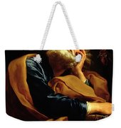 St Peter Weekender Tote Bag by Pompeo Girolamo Batoni