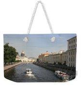 St. Petersburg Canal - Russia Weekender Tote Bag