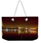 St Petersburg, Fl, Skyline At Night Weekender Tote Bag
