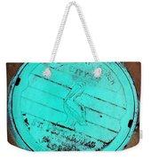 St Petersburg Manhole Weekender Tote Bag