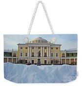 St Petersburg, Russia, Pavlovsk Palace Weekender Tote Bag