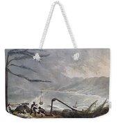 St. Thomas: Hurricane, 1819 Weekender Tote Bag