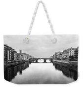 St. Trinity Bridge, Florence Weekender Tote Bag