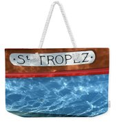 St. Tropez Weekender Tote Bag by Lainie Wrightson