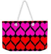 St. Valentine Love Weekender Tote Bag