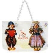 St. Valentines Day Card Weekender Tote Bag