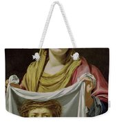 St. Veronica Holding The Holy Shroud Weekender Tote Bag