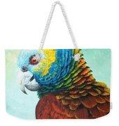 St. Vincent Parrot Weekender Tote Bag