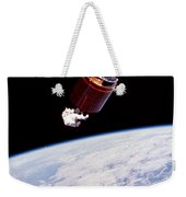 Stabilizing Spacecraft Weekender Tote Bag