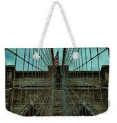 Stable - Brooklyn Bridge Weekender Tote Bag