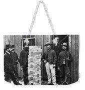 Stack Of Silver Ingots Weekender Tote Bag