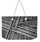 Stacked Barriers 0533 Weekender Tote Bag