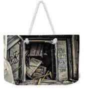 Stacked Weekender Tote Bag by CJ Schmit