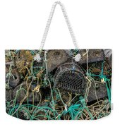 Stacked Crab Traps Weekender Tote Bag