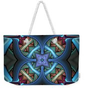 Stacked Kaleidoscope Weekender Tote Bag
