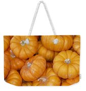 Stacked Mini Pumpkins Weekender Tote Bag