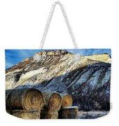 Stacked Mountains  Weekender Tote Bag
