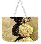 Stacked Rocks Weekender Tote Bag