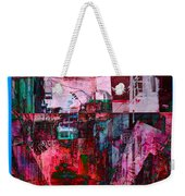 Stackin' The Alley Walk About Weekender Tote Bag
