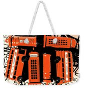 Stacking The Double Deckers Weekender Tote Bag