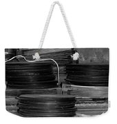 Stacks Of Wax Weekender Tote Bag