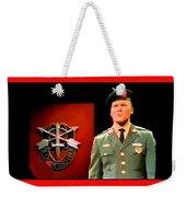 Staff Sergeant Barry Sadler Singing On National Tv - Ed Sullivan Show 1966-2016 Weekender Tote Bag