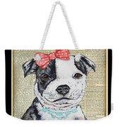 Staffordshire Terrier-jp3857 Weekender Tote Bag
