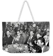 Stag Dinner And Awards Monterey Peninsula Country Club, Pebble Beach 1950 Weekender Tote Bag