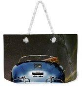 Star Gazing,1955 Porsche 356a 1600 Speedster, Under The Milky Way Weekender Tote Bag