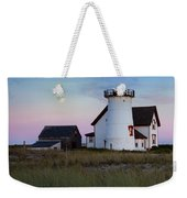 Stage Harbor Light Cape Cod Weekender Tote Bag