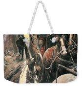 Stagecoach Robbers Weekender Tote Bag