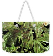 Staghorn Butterfly Fractal Weekender Tote Bag