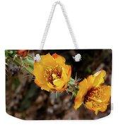 Staghorn Cactus Blossons Weekender Tote Bag