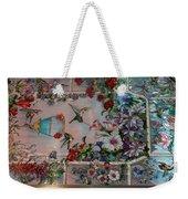 Stain Glass - Bath House - Hot Springs, Ar Weekender Tote Bag