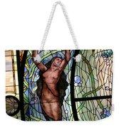 Stain Glass Set 3 - Bath House - Hot Springs, Ar Weekender Tote Bag