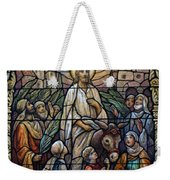 Stained Glass - Palm Sunday Weekender Tote Bag