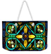 Stained Glass 1 Weekender Tote Bag