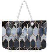 Stained Glass 4 Weekender Tote Bag by Elisabeth Fredriksson