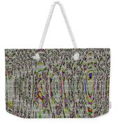 Stained Glass Abstract Weekender Tote Bag