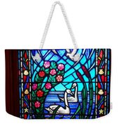 Stained Glass Beauty #20 Weekender Tote Bag