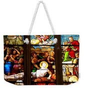Stained Glass Beauty #38 Weekender Tote Bag