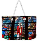Stained Glass Beauty #39 Weekender Tote Bag